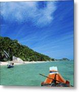Thailand Boat Metal Print