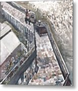Thames Riverwalk Metal Print
