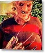 Things Can Get Ugly Fast On Halloween  Metal Print