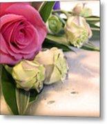 Thank You Rose Bouquet  Metal Print