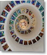 Thanks Giving Chapel Dallas Oil Paint Filter Metal Print
