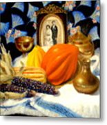 Thanksgiving Of The Past Metal Print