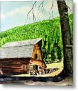 That Barn From That Movie Metal Print