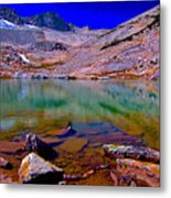 That Is The Glacier Up There Metal Print