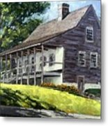 That Old House Metal Print