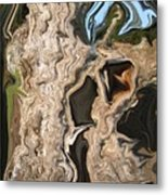 That Old Stump Metal Print
