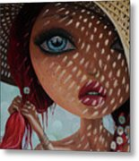 That Perfect Love I Never Had - Oil Painting Metal Print