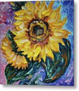 That Sunflower From The Sunflower State Metal Print