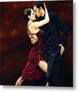 That Tango Moment Metal Print