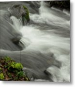 That View Of The Flow Metal Print
