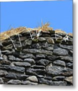 Thatched Cottage Gable Metal Print