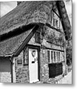 Thatched Cottages In Chawton 5 Metal Print