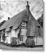Thatched Cottages Of Hampshire 17 Metal Print