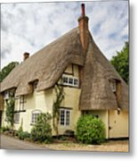 Thatched Cottages Of Hampshire 18 Metal Print