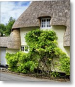 Thatched Cottages Of Hampshire 19 Metal Print