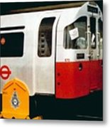 That'll Be The Day - Locomotive - London Underground - Retro Travel Poster - Vintage Poster Metal Print