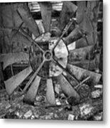 That's One Dadgum Big Pinwheel Metal Print