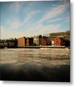 Thawing Saugatuck  Metal Print
