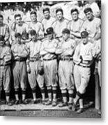 The 1911 New York Giants Baseball Team Metal Print