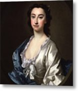 The Actress Susannah  Metal Print