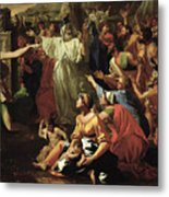The Adoration Of The Golden Calf Metal Print