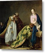 The Adoration Of The Magi Metal Print by Pieter Fransz de Grebber