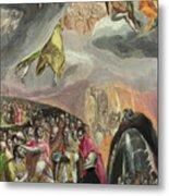 The Adoration Of The Name Of Jesus Metal Print