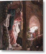 The Adoration Of The Wise Men Metal Print