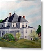 The Adrian Shuford House - Spring 2000 Metal Print