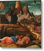 The Agony In The Garden 1455 Metal Print