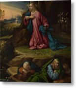 The Agony In The Garden Metal Print