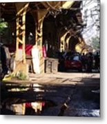 The Alley I Metal Print