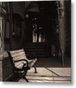 The Alleyway Metal Print