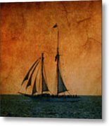 The America In Key West Metal Print