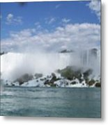 The American Falls At Niagra Metal Print