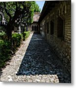 The Ancient Cloister 2  Metal Print