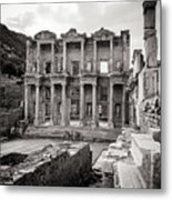The Ancient Library Metal Print