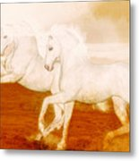 The Andalusians Metal Print