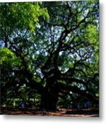 The Angel Oak In Summer Metal Print