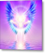 The Angel Of Divine Protection Metal Print