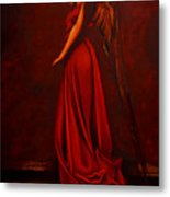 The Angel Of Love Metal Print