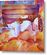 The Angel's Nap Metal Print