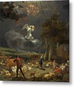 The Annunciation To The Shepherds Metal Print