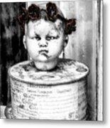 The Antique Doll's Head Metal Print