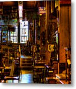 The Antique Store Metal Print