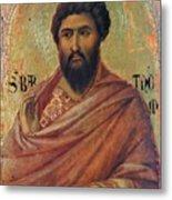 The Apostle Bartholomew 1311 Metal Print