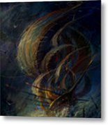 The Apparation Metal Print