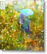 The Approach Of Autumn Metal Print