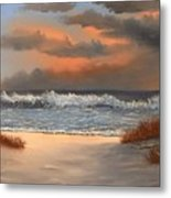 The Approaching Storm Metal Print