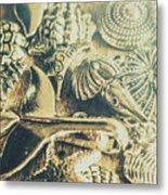 The Aquatic Abstraction Metal Print